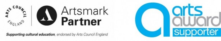 We deliver Artsmark and Arts Award in schools
