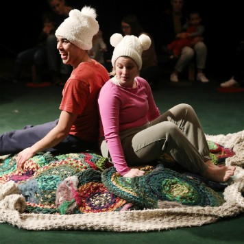 Image from Igloo - performed at Stratford Circus Arts Centre. Image by James Keates