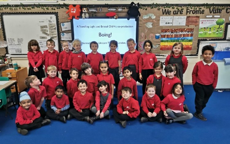 """We had a wonderful afternoon watching 'Boing!' – thank you for this great opportunity."""