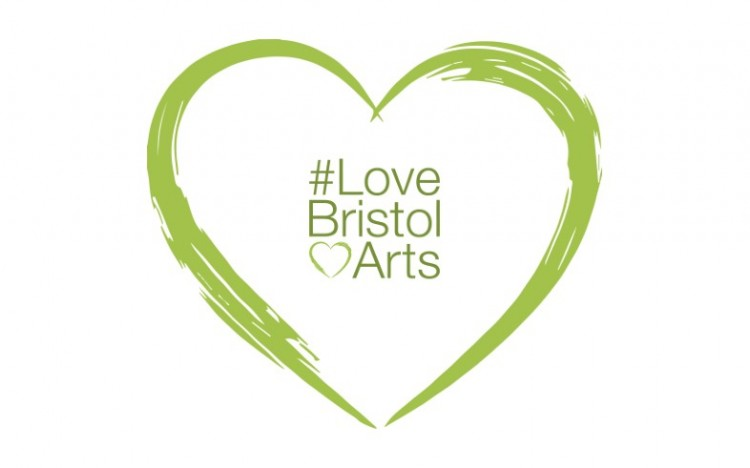 #LoveBristolArts campaign - a collaborative campaign to mobilise audiences and organisations to support Bristol and Bath's arts and culture sector at this challenging time.