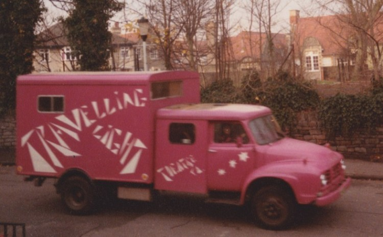 Our original pink van